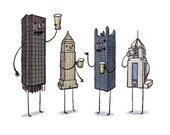 Pittsburgh skyscrapers print- Beer night!
