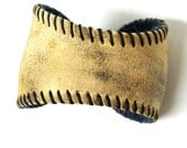 Baseball Bracelet / Repurposed / Recycled / Baseball Cuff / Upcycled / Leather Cuff