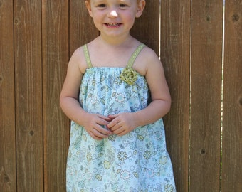 INSTANT DOWNLOAD Kayla Dress PDF Sewing Pattern Includes Sizes Newborn up to Size 14