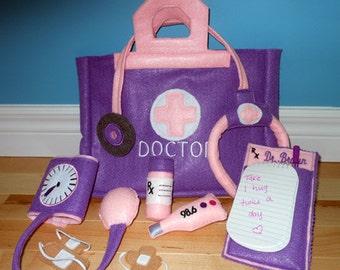 Fun Felt Doctor Kit Embroidery Machine Design Set