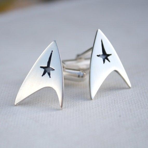 Star Trek Cufflinks | Star Trek Gift Guide