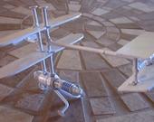 Metal Sculpture Spark Plug Human Powered Airplane Re purposed