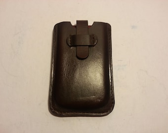 Molded Leather Smartphone Case