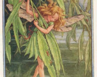 The Willow Fairy - Cross stitch pattern pdf format