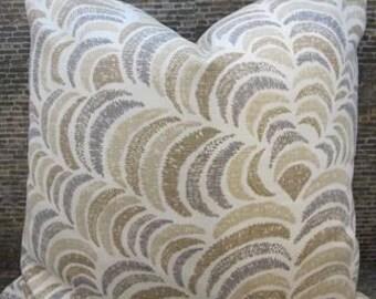 Designer Lumbar Pillow Cover - 10 x 20, 12 x 16, 12 x 18, 12 x 20,  -  Sulka Linen