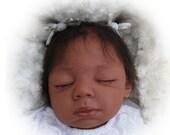 Biracial Newborn Baby