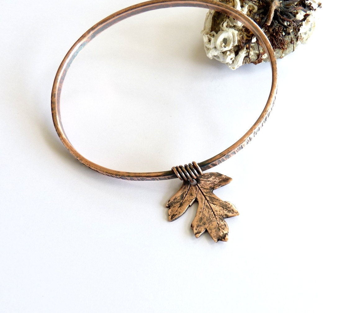 copper stacking bangles