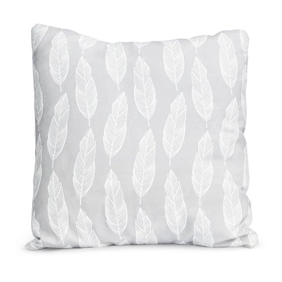Feathered Pillow Case