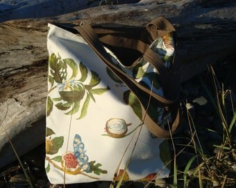 Fruit and Floral  Tote bag