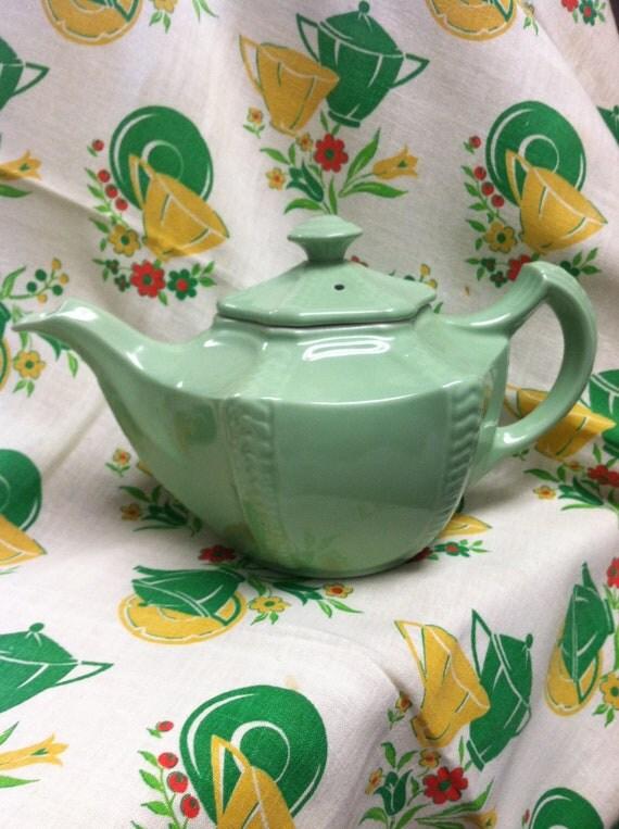 Beautiful Jade Green Teapot