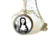 Geekery Scarlett OHara Glass Art Pendant Gone With The Wind 1930sFilm