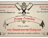 Custom order for Claire E (xscarecrow)
