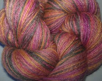 Handspun BFL/Silk - Sweet Nostagia - 464m/507y