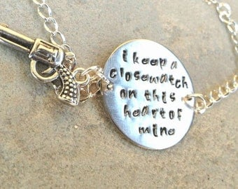 Johnny Cash,I Keep A Close Watch On This Heart Of Mine Bracelet,Close Watch, This Heart of Mine, Johny Cash, Walk the Line