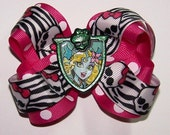 LAGOONA BLUE monster high boutique hair bow 4 in. across on a alligator hair clip