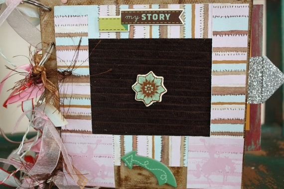 COWGIRL BABY BOOK Western Paper Memory Album