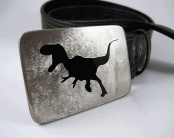 T-Rex Belt Buckle - Stainless Steel - Handmade