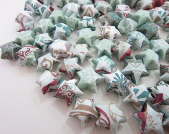 LAST SET 100 Elsa Inspired Winter Origami Stars