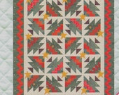 Christmas Tree Quilt Pattern from Quilt Design Northwest