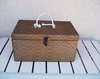 Vintage Craft Box Chest.