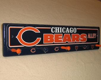"""Chicago Bears coat rack """" hangup """""""
