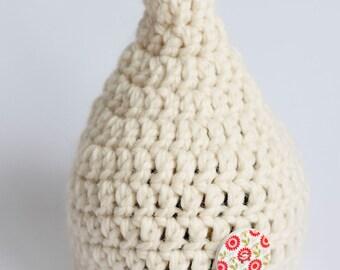 Cream Pixie Hat for Newborn - Custom Order