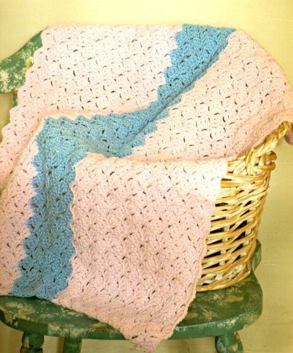 Handmade Crocheted Dog or Cat Blanket