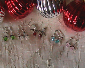 Angel Earrings for Anytime of the Year!