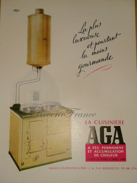 Original Vintage French Ad - Retro French Kitchen 1954Retro Kitchen Ad