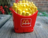 Vintage McDonald's Transformer French Fries Toy 1987