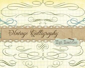 Calligraphy Borders & Ornaments No. 2