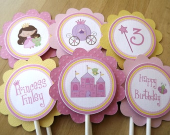 Fairy Princess Collection: Cupcake Toppers