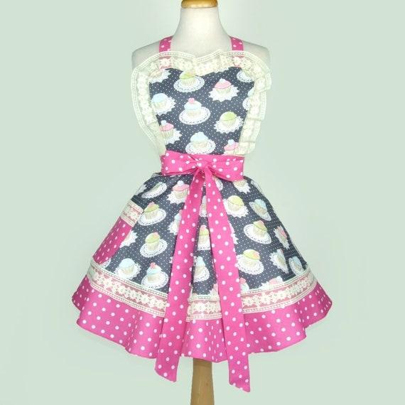 sch rze cupcakes sch rze retro vintage inspiriert polka dots. Black Bedroom Furniture Sets. Home Design Ideas
