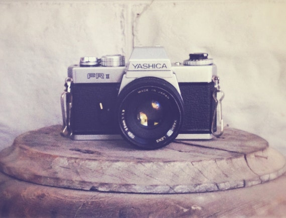 Vintage Yashica FRII 35mm Film Camera with 50mm lens
