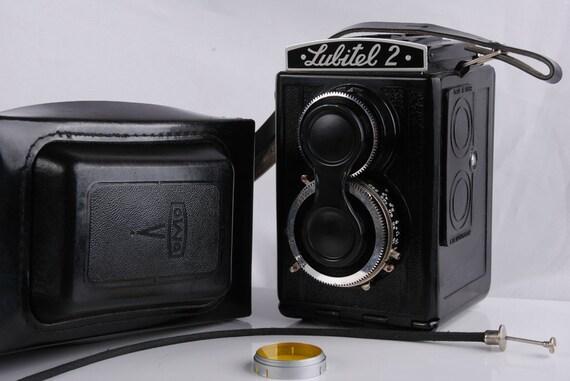 Old Lomo Lubitel 2 Soviet Voïgtlander Brilliant copy Vintage TLR Export Camera