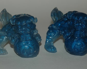Chinese Foo Dog Soaps - Detergent Free Chinese Lion Soaps - Vegan Friendly Soap