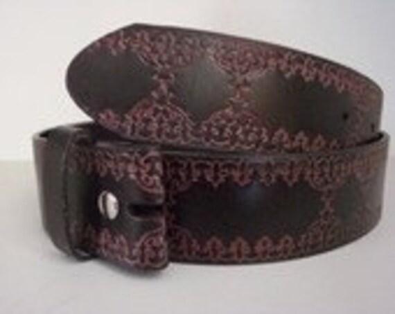 Women's Belt Strap Dark brown Interchangeable