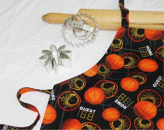 Basketball Child Apron