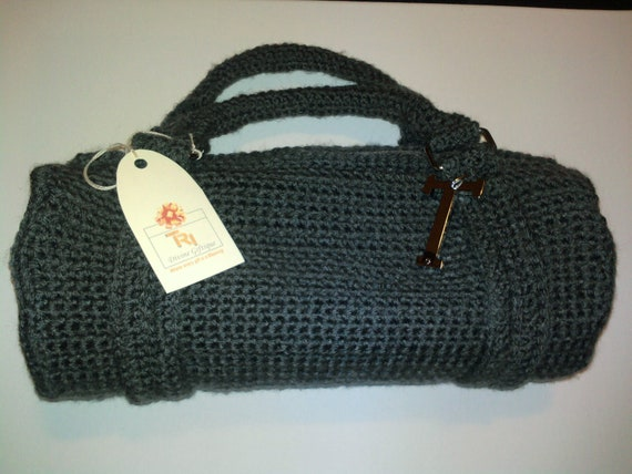 Crochet Duffle Purse