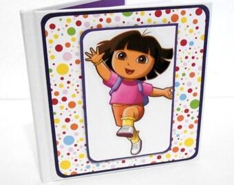 Mini Hardcover Journal, Mini Journal: Dora-5 1/4 x 5 1/4 inches