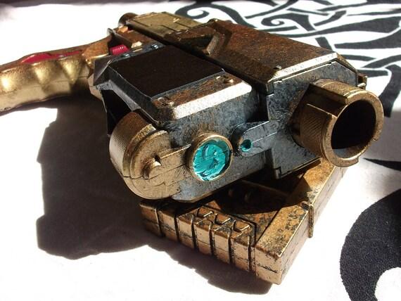 Mercenary Gunslinger - Steampunk themed NERF Recon Dart Gun by Clockwork Firebird Designs