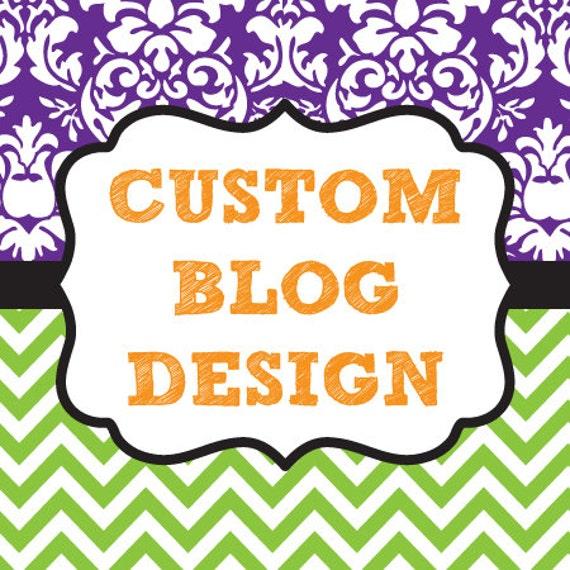Custom Blogger Design
