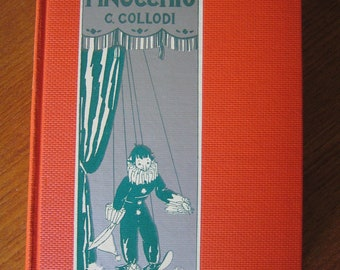 Vintage Hardcover 1920s 30s Pinnichios Book In Excellent Condition