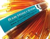 Treatment free raw honey straws - all natural