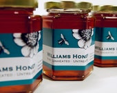 Treatment free honey raw and all natural - 3 jar special