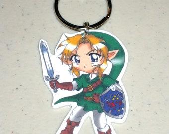 Link - Legend of Zelda Keychain, Charm, Necklace, Earrings