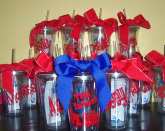 Personalized Tumblers - Bachelorette Weekends, Family Reunions, Cruise, Girls weekends