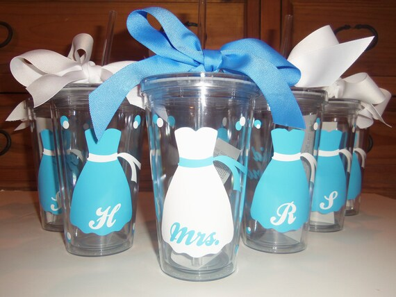 Reserved for Amanda Wedding Tumblers Bride, Bridesmaid gifts, ,wedding day, bridal luncheon,  mother of the bride, mother of the groom