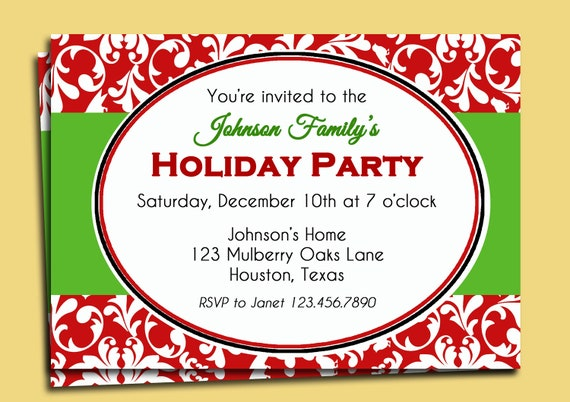 free clipart christmas invitation - photo #14