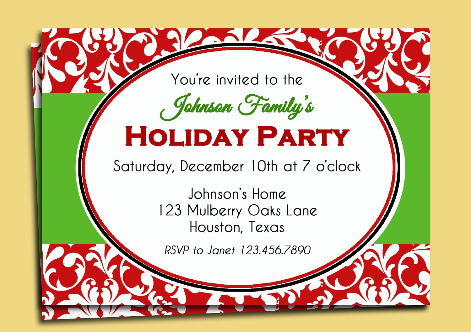 holiday party invitation - itemroshop.tk
